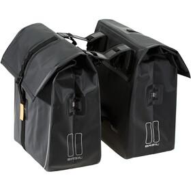 Basil Urban Dry Dubbele Bagagedragertas 50l, matt black